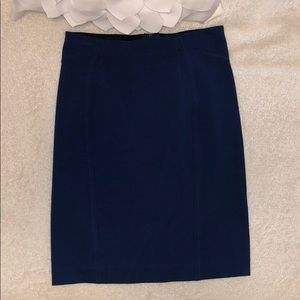 Ann Taylor Navy Blue Skirt